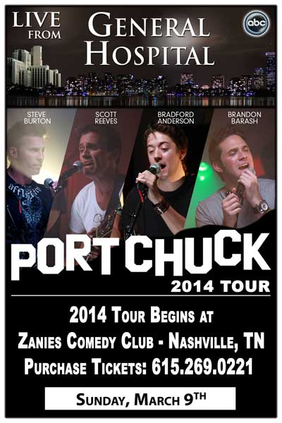 The Port Chuck Band 2014 Tour Sunday, March 9, 2014