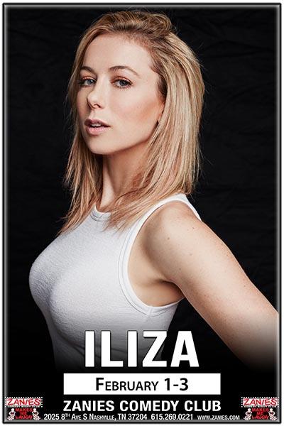 Iliza Live at Zanies Comedy Club Nashville February 1-3, 2018