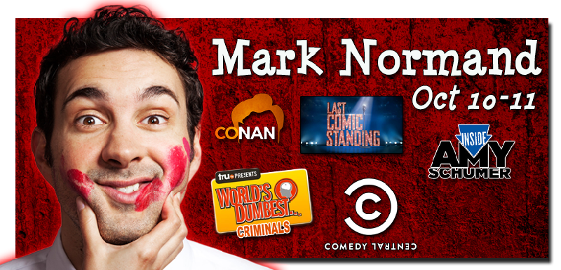 Mark Normand as seen on Last Comic Standing Conan Comedy Central Worlds Dumbest Criminals Inside Amy Schumer and more For a sneak peek click here then select video preview
