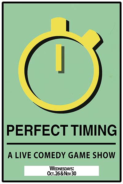 Perfect Timing: A Live Comedy Game Show Live at Zanies Nashville Wednesday, November 30, 2016