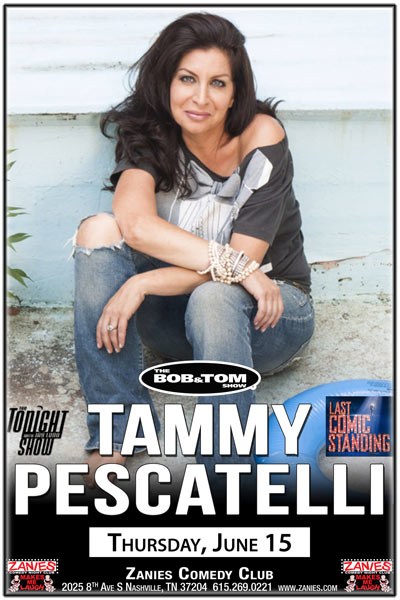 Tammy Pescatelli LIVE at Zanies Thursday, June 15, 2017