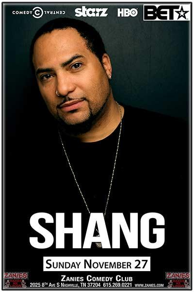 Shang LIVE at Zanies November 27, 2016