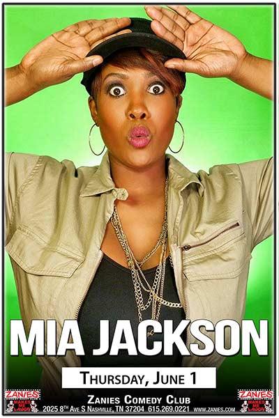 Mia Jackson Live at Zanies Comedy Club Nashville June 1, 2017