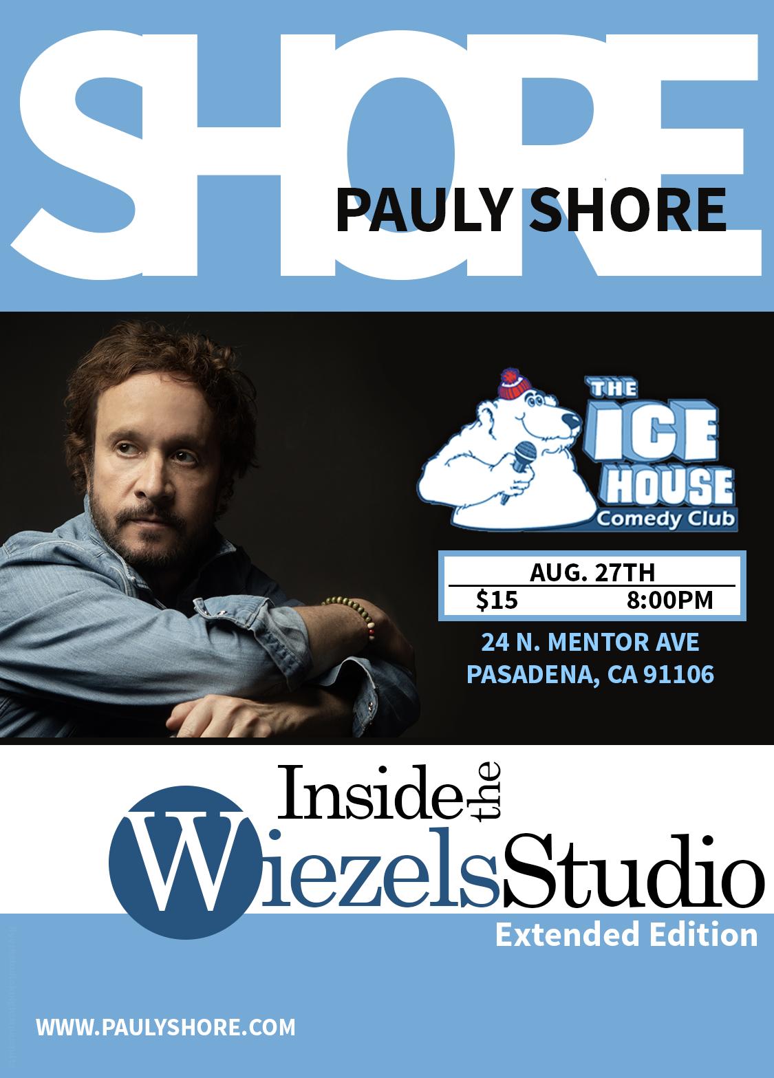 Amber Lancaster Entourage the ice house :: inside the wiezel's studio