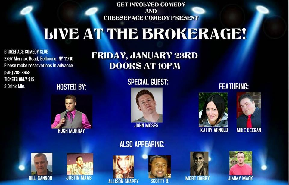 LIVE  THE BROKERAGE   SPECIAL EVENT