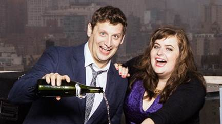 Saturday Night Lives Tim Robinson  Aidy Bryant