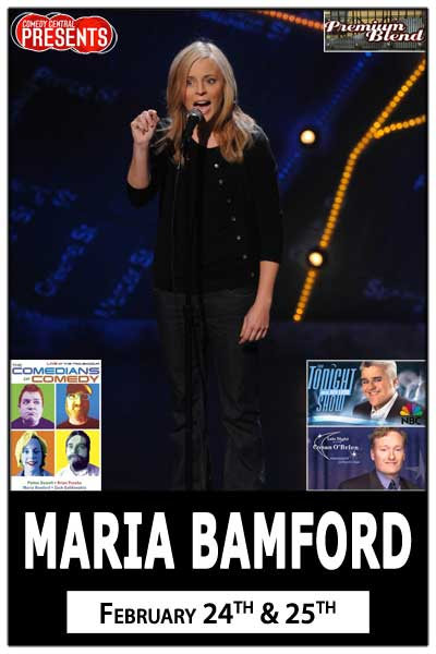 Maria Bamford live from Comedy Central at Zanies Comedy Club Nashville Feb. 24 & 25, 2015