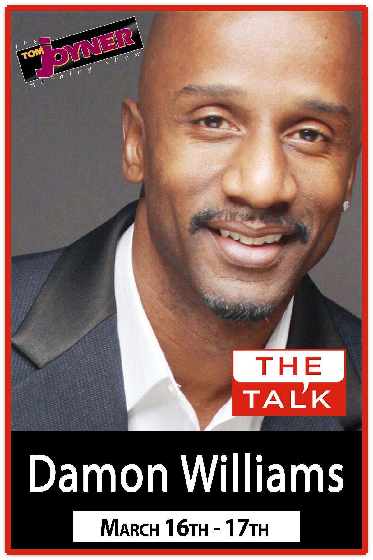 Damon Williams from the Tom Joyner Morning Show and The Talk Live at Zanies Nashville March 16 & 17, 2016