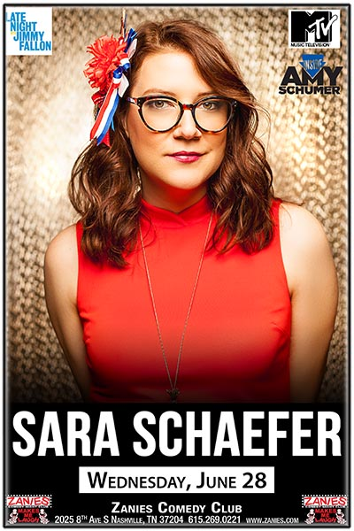 Sara Schaefer LIVE at Zanies Comedy Club Nashville Wednesday, June 28, 2017