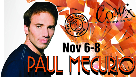 PAUL MECURIO  4 Shows  November 68