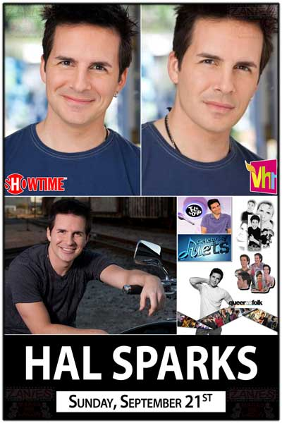 Hal Sparks Sunday, September 21, 2014 from Showtime's Queer As Folk, Talk Soup and much more Live at Zanies Comedy Club - Nashville
