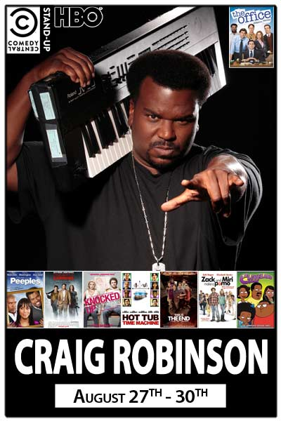 Craig Robinson from The Office August 27 - 30, 2015 live at Zanies comedy Club nashville