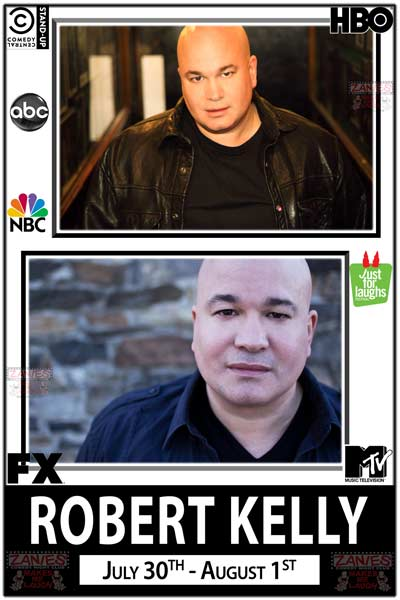 Robert Kelly seen on HBO's Dane Cook's Tougasm, FX, MTV, ABC, NBC and much more live at Zanies Comedy Club Nashville July 30-Aug1, 2015