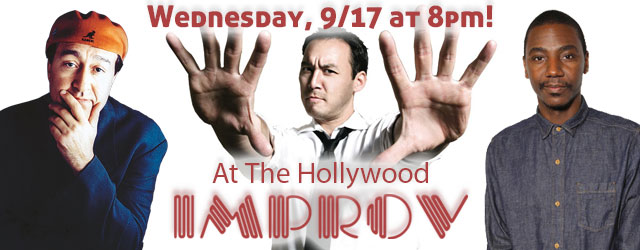 A Night at the Improv with Steve Byrne Jerrod Carmichael Greg Fitzsimmons Jackie Kashian Dom Irrera and Brian Monarch