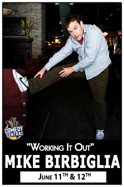 Mike Birbiglia June 11 & 12