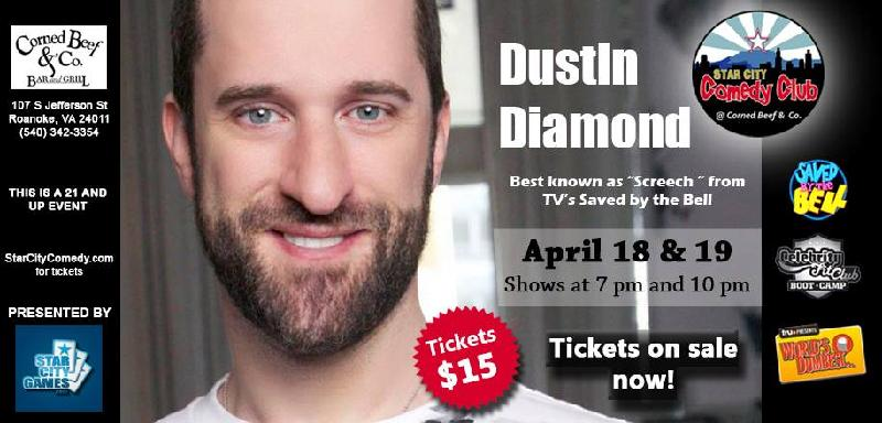 Celebrity Series with Dustin Diamond