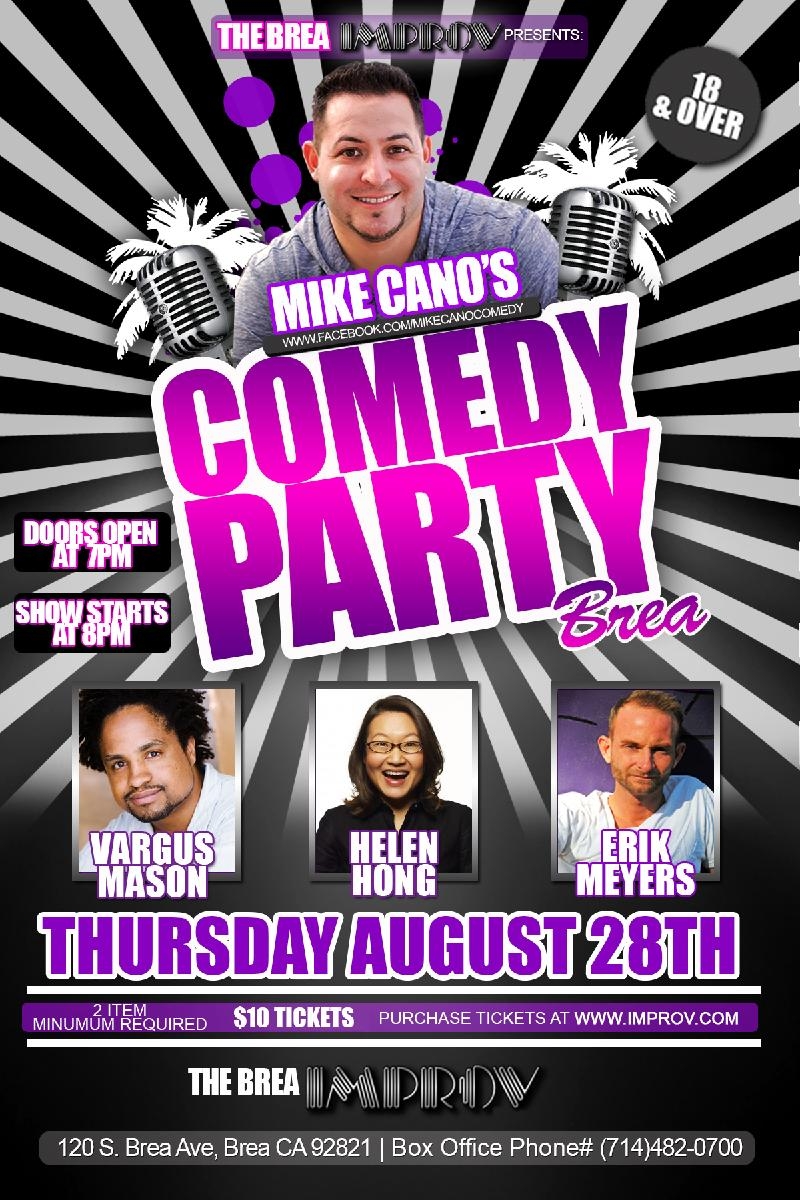 MIKE CANOS COMEDY PARTY