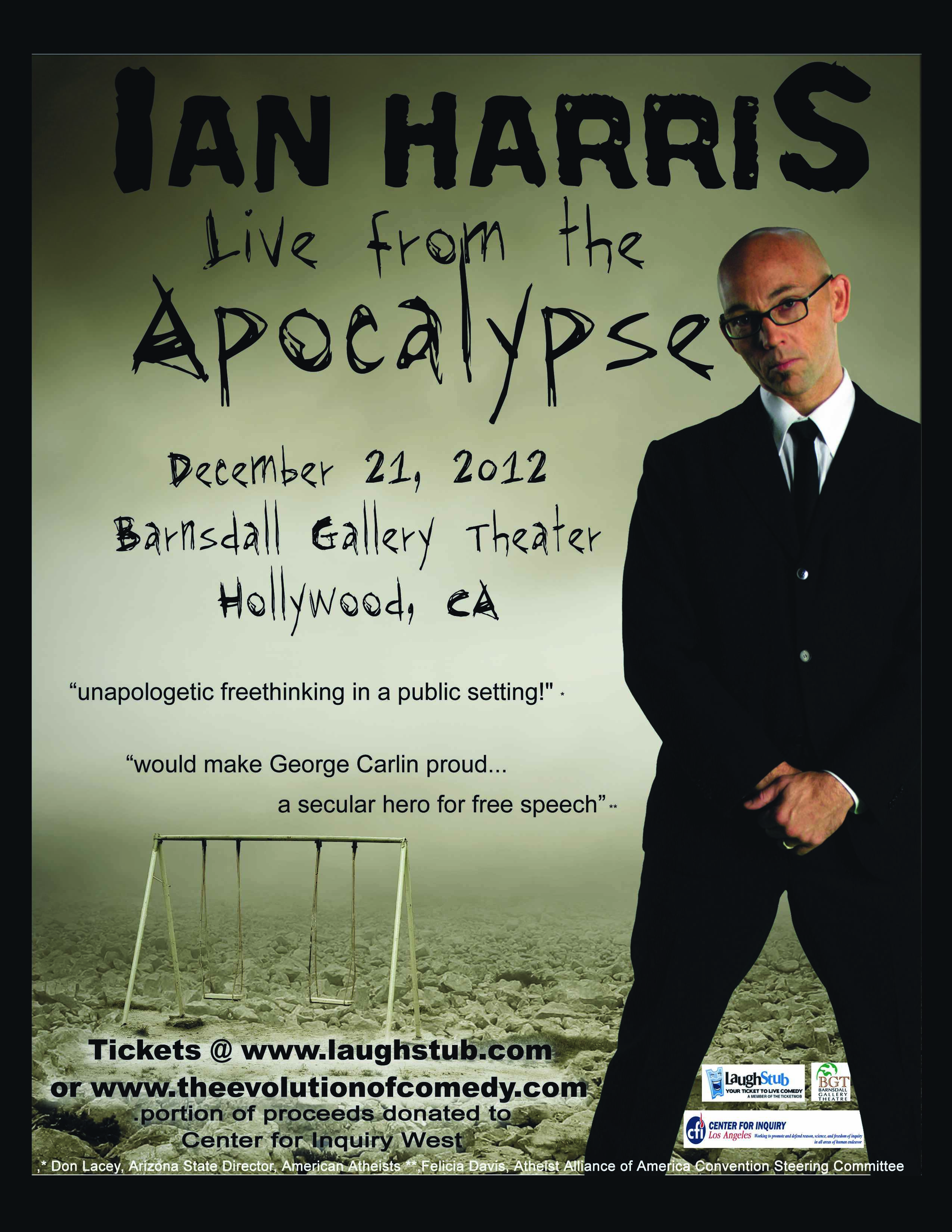 Ian Harris Live From The Apocalypse