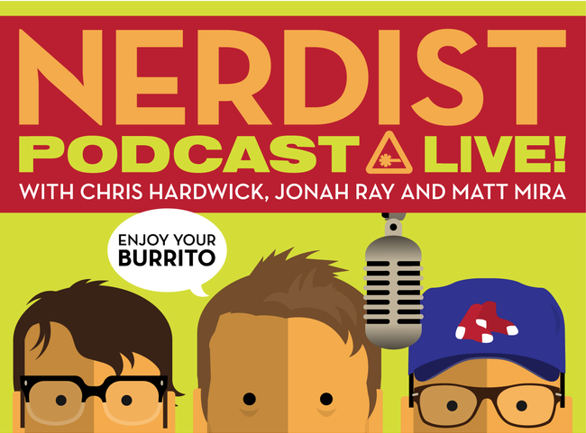 Nerdist Podcast Live With Chris Hardwick