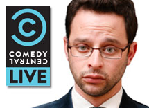 COMEDY CENTRAL LIVE presents NICK KROLL  a preview of his new series KROLL SHOW