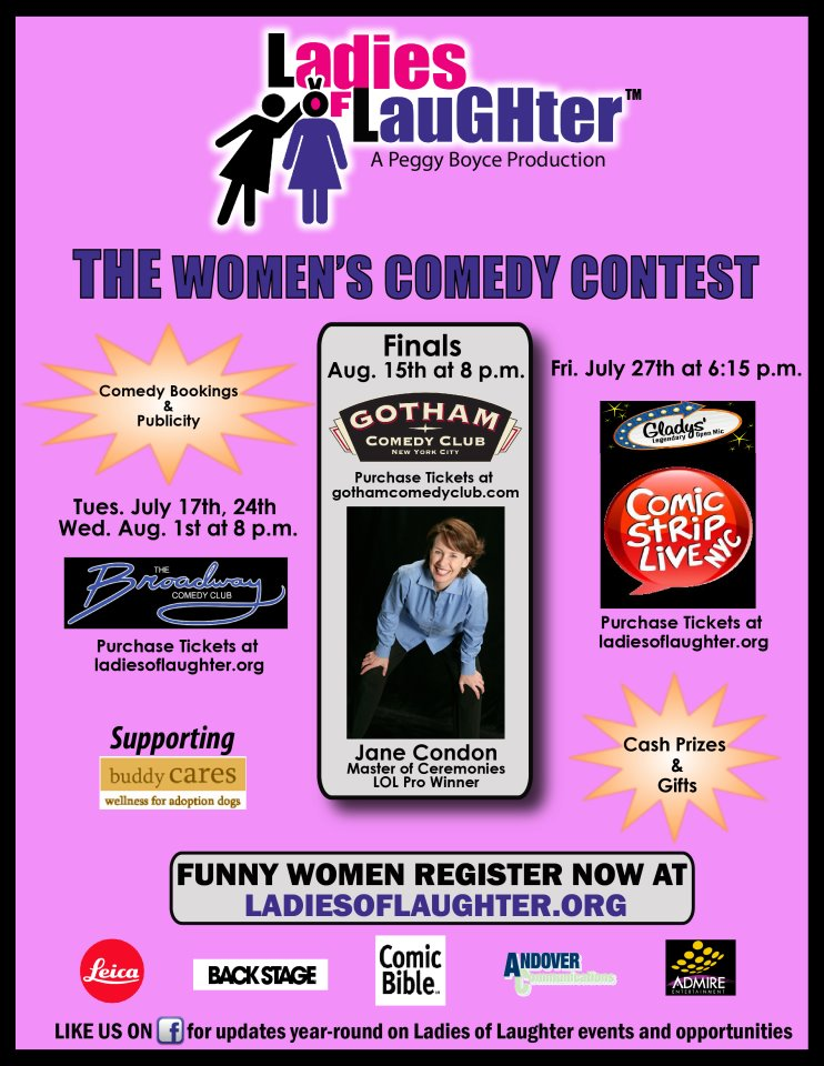 2012 Ladies of Laughter Finale