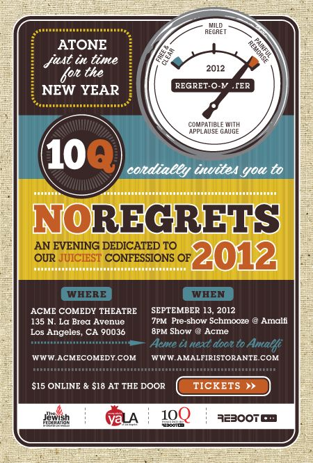 10Q presents NO REGRETS