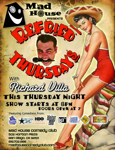 Refried Thursdays  with Richard Villa
