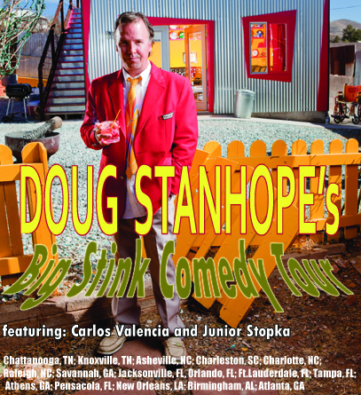 Doug Stanhopes Big Stink Comedy Tour2012
