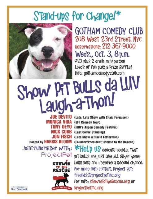 Gotham Comedy Club :: Stewie to the Rescue and AmsterDog