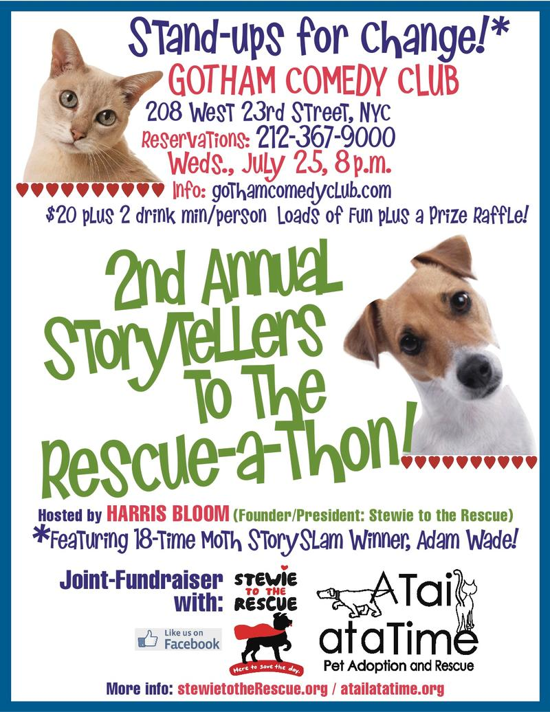 2nd Annual Story Tellers to the RescueAThon