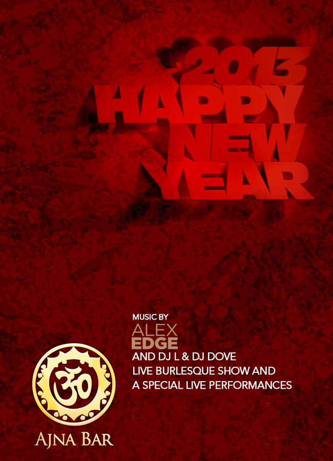 Ajna Bar New Years Eve New Years Eve at Ajna Bar