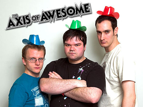 Penguin\'s Comedy Club - Cedar Rapids :: Axis Of Awesome