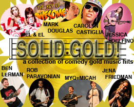 Comedy Musicians Coalition presents Solid Gold