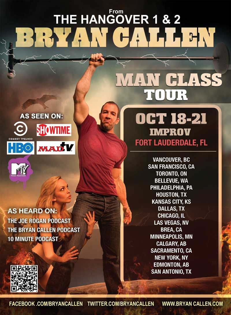 Bryan Callen The Man Class Tour