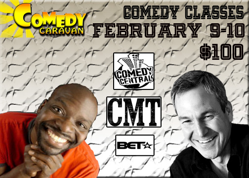 Comedy Classes with Keith McGill and Mark Klein