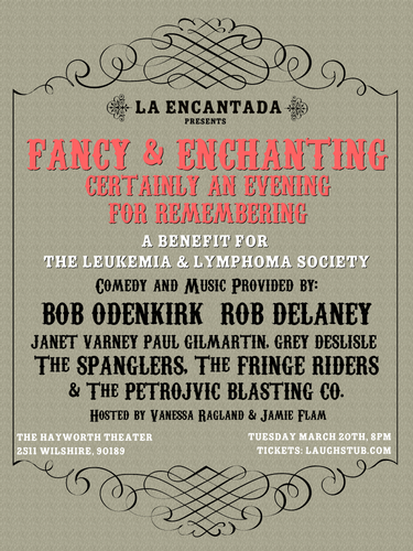 Fancy  Enchanting Certainly A Night For Remembering  A Benefit for The Leukemia  Lymphoma Society