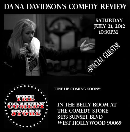 Dana Davidsons Comedy Review