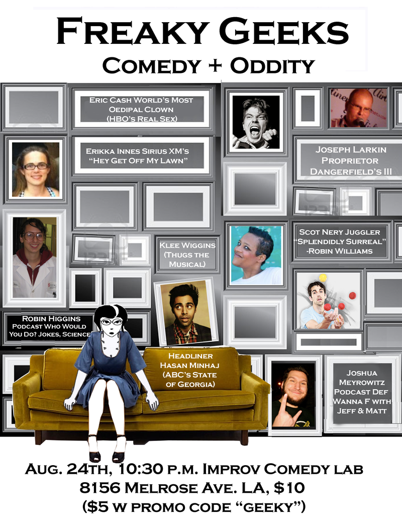 AT THE LAB FREAKY GEEKS Comedy  Oddity