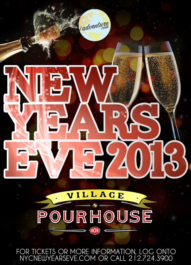 New Years Eve 2013 at Village Pourhouse Hoboken by iAdventure.com
