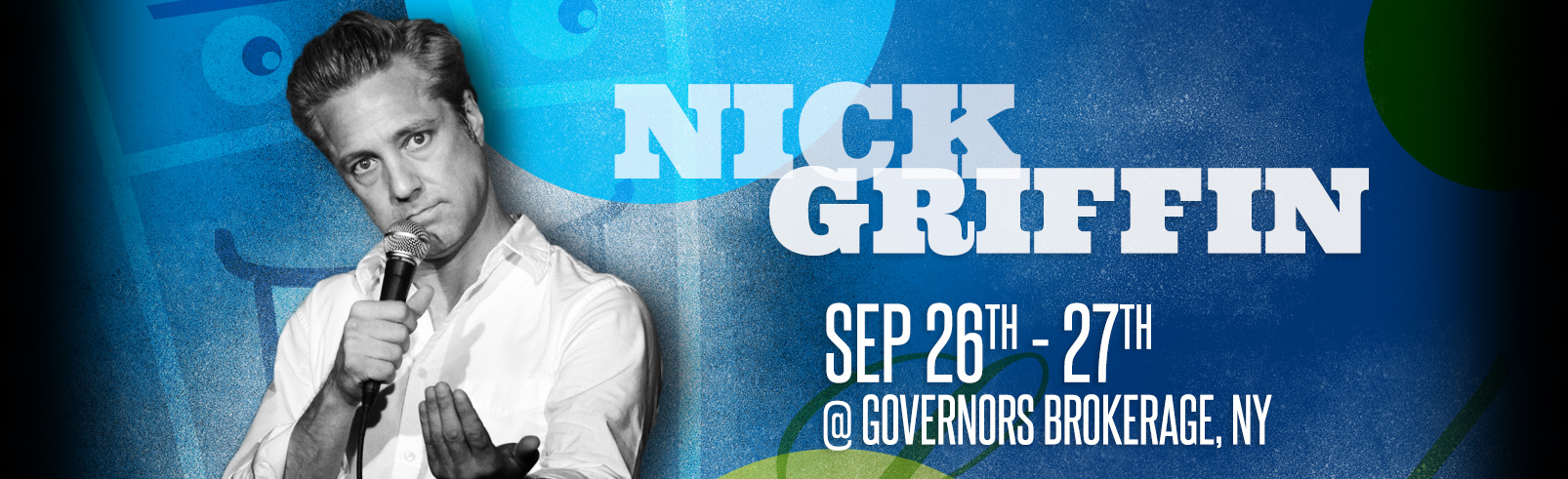 Nick Griffin @ Governors Brokerage