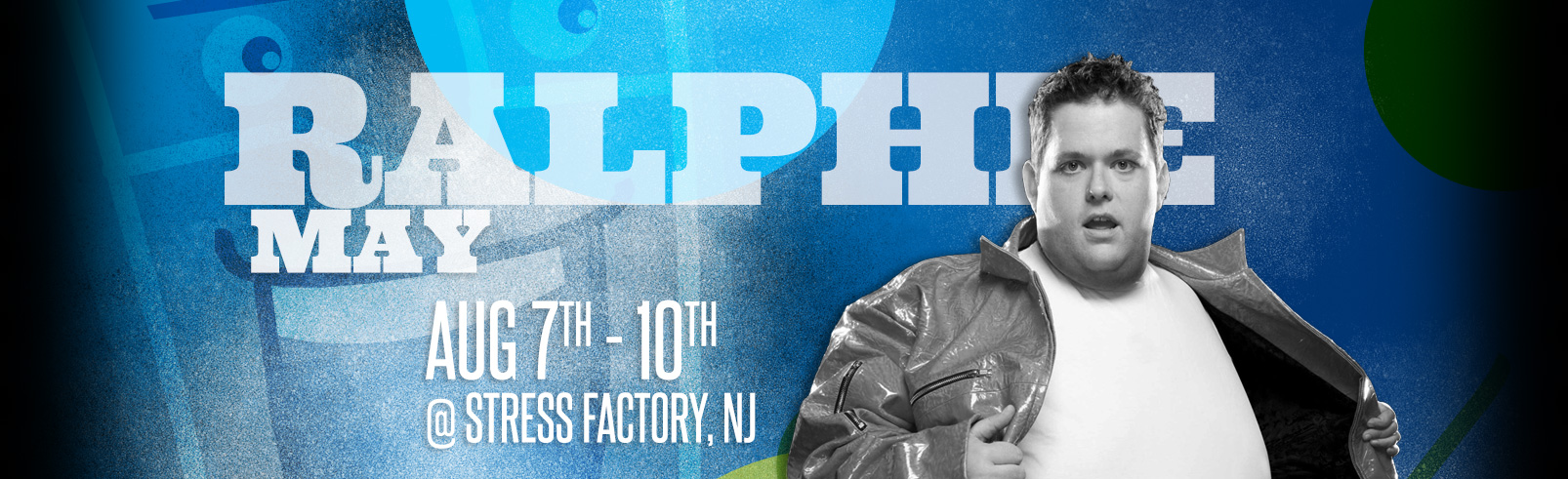 Ralphie May @ Stress Factory Comedy Club