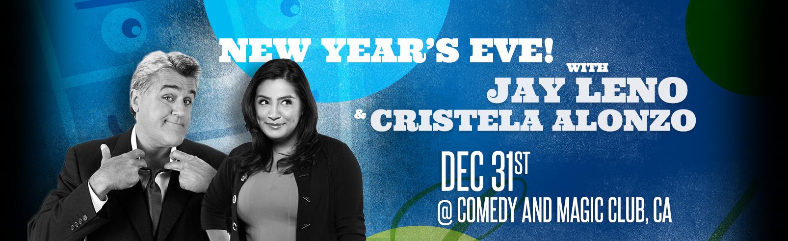 Jay Leno & Cristela Alonzo @ Comedy and Magic Club