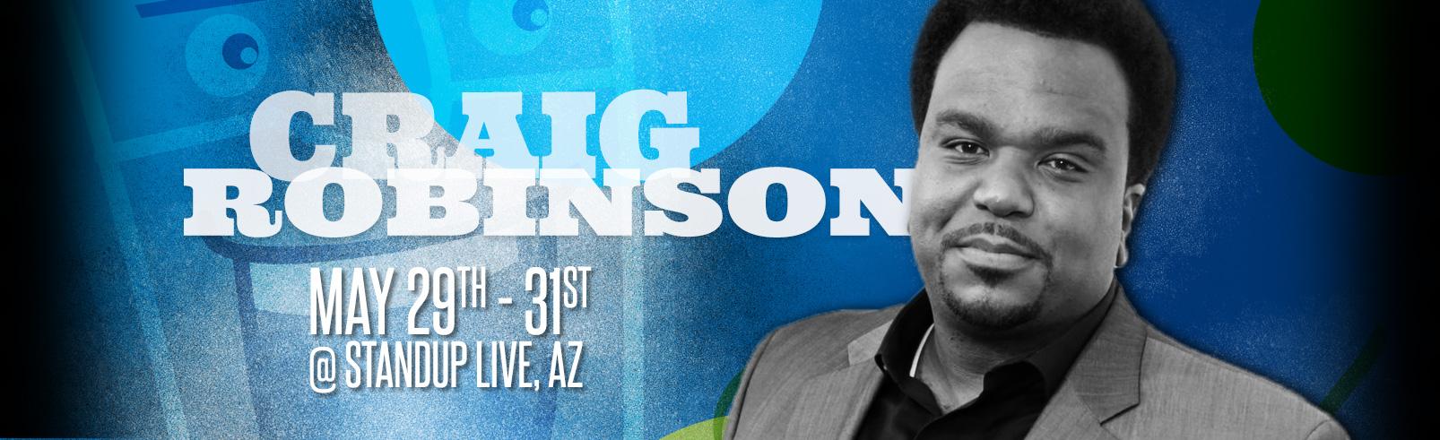 Craig Robinson @ StandUp Live