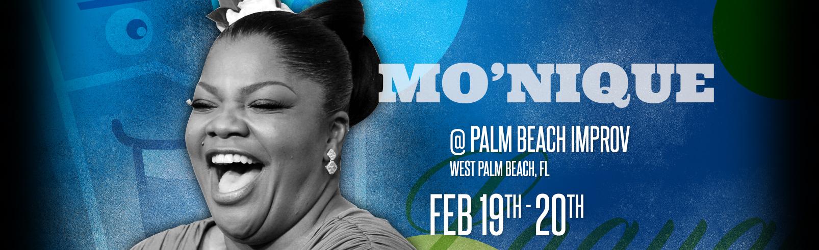 Mo'Nique @ Palm Beach Improv