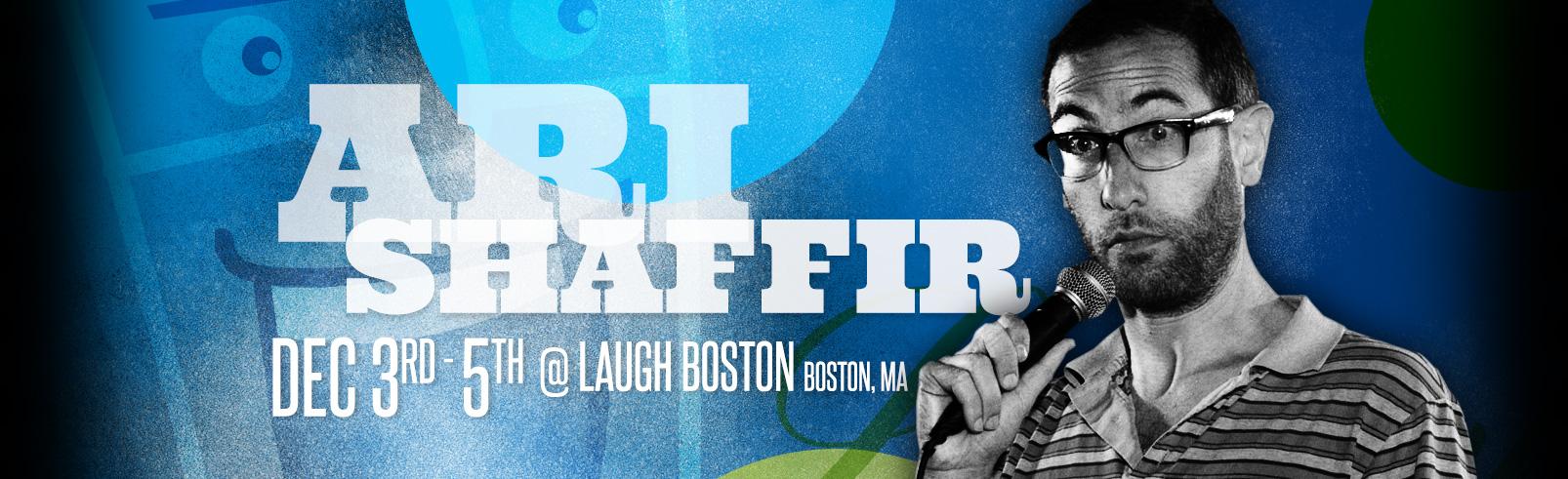 Ari Shaffir @ Laugh Boston