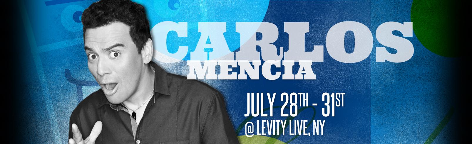 Carlos Mencia @ Levity Live