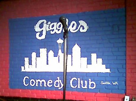 Giggles Comedy Club  Seattle