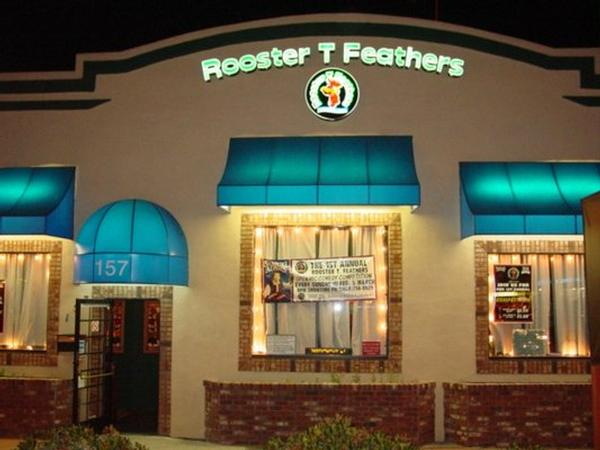 Rooster T Feathers