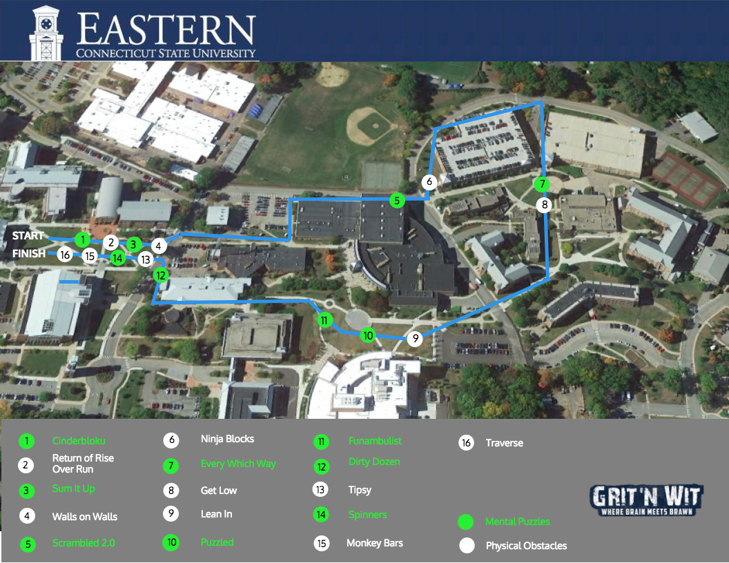eastern connecticut state university map Eastern Connecticut State University Grit N Wit eastern connecticut state university map