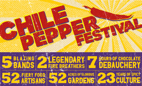 Brooklyn Botanic Garden :: Chile Pepper Festival